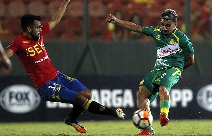 Unión Española vs Sport Huancayo. Foto: AFP