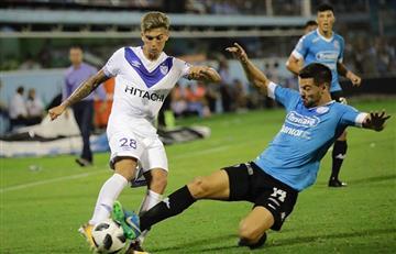 Velez logró un empate agónico en los minutos finales ante Belgrano