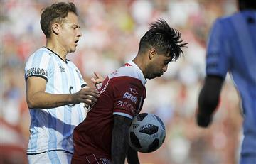 Argentinos Jrs. empató en un partido con mucha polémica ante Atlético Tucumán