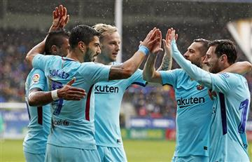 Barcelona volvió a ganar ante un complicado Eibar