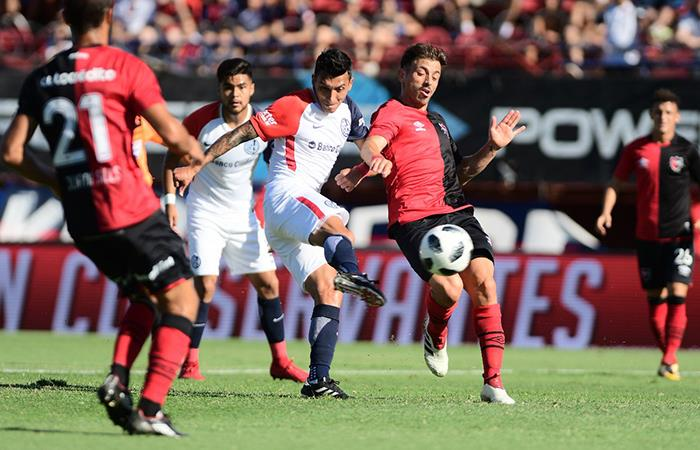 San Lorenzo logró un triunfo ajustado sobre Newell's (Foto: Twitter)