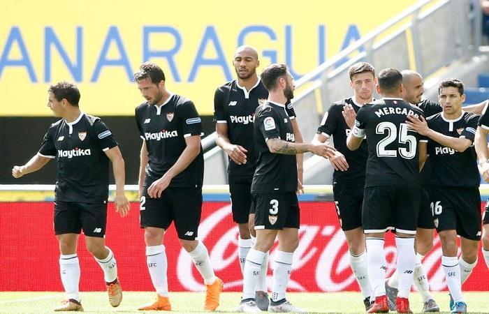 El Sevilla derrotó a Las Palmas por 2-1. Foto: Facebook