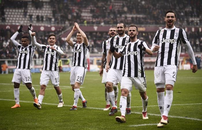 La Juventus ganó el clásico de Turín. (AFP). Foto: AFP