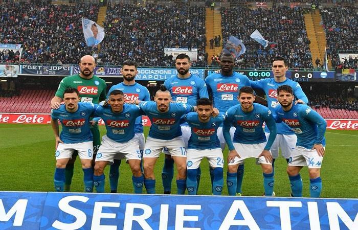 Napoli sigue como líder de la Serie A. (AFP). Foto: AFP