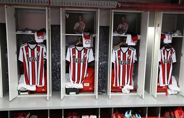 River Plate estrenará camiseta tricolor ante Godoy Cruz