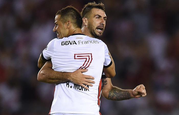 River tuvo un empate polémico ante Godoy por los errores arbitrales (Foto: Twitter)