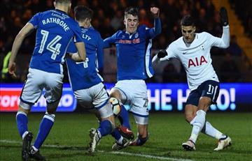 Tottenham con Erik Lamela igualó con el Rochdale por FA Cup y habrá 'replay'