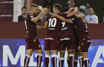 Lanús rompió el Cristal y se quedó con el triunfo por la Copa Sudamericana