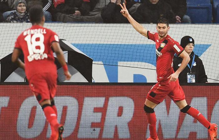 Lucas Alario cumple su ciclo en la Bundesliga. Foto: Facebook