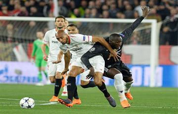Sevilla y Manchester United no se hicieron nada en el Sanchez Pizjuán