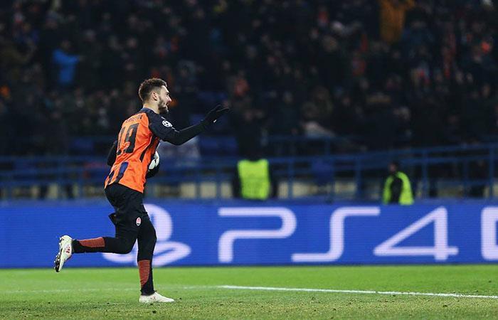 Con gol de Facundo Ferreyra el Shakhtar le ganó a la Roma 2 a 1. Foto: Facebook