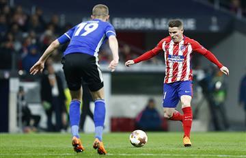 Atlético de Madrid le ganó al Copenhague 1-0 y clasificó a octavos de la Europa League