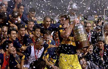 Boca Juniors celebra la derrota de Independiente en la Recopa Sudamericana