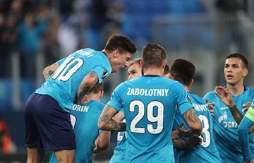 Zenit goleó al Celtic y paso sin problemas a los octavos de final de la Europa League