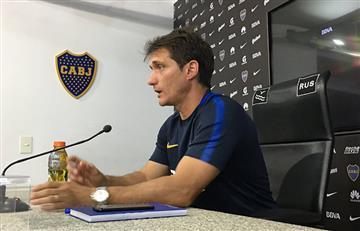 """Guillermo Barros Schelotto: """"Hay que darle paz a los árbitros"""""""