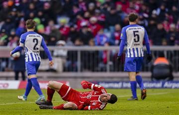 El Bayern Múnich corta la racha de 14 partidos con victorias