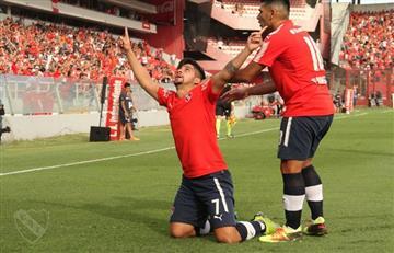 Independiente derrotó a Banfield por 1-0 y es cuarto en la Superliga