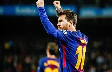 Se rindió a los pies de Lionel Messi