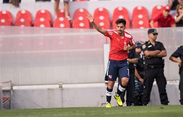 """Martín Benítez: """"Yo amo a Independiente"""""""