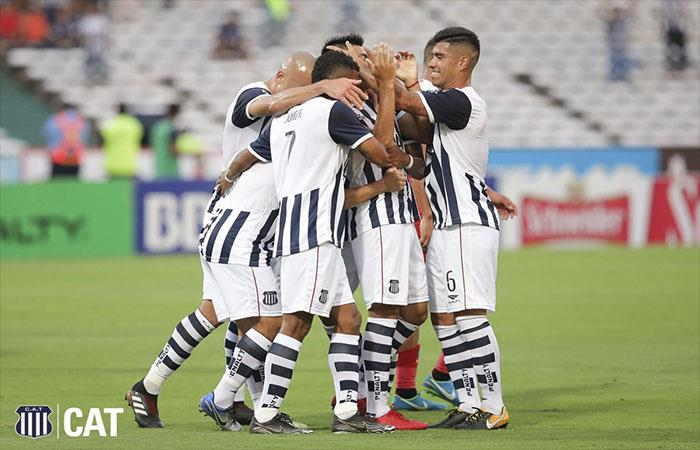 Talleres se impuso 2-0 ante Argentinos Juniors. Foto: Twitter