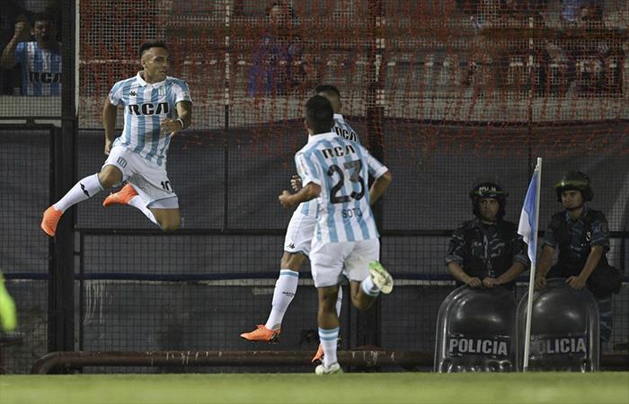 Racing Club se impuso 4-2 ante Cruzeiro (Foto: Twitter)