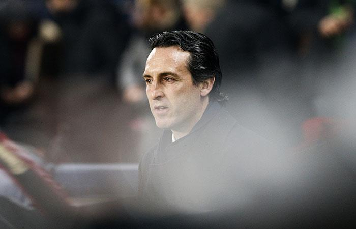 Unai Emery. (AFP)