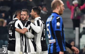 La Juventus derrotó al Atalanta 1-0 y avanzó a la final de la Coppa Italia
