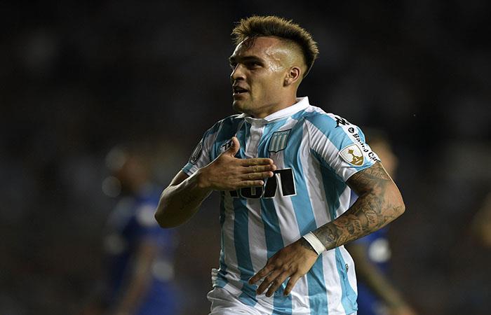 Lautaro Martínez. (AFP). Foto: AFP