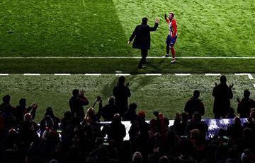 Atlético de Madrid de Diego Simeone goleó y mete miedo al Barcelona.