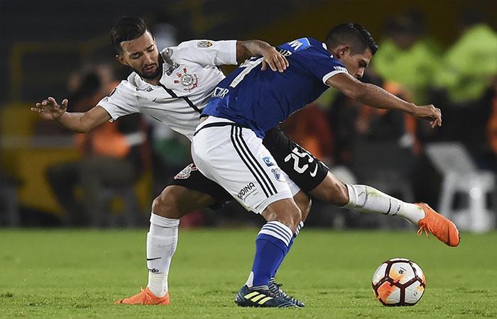 Millonarios y Corinthians igualaron 0-0. Foto: AFP