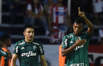 Palmeiras se estrenó con goleada sobre Junior en Barranquilla