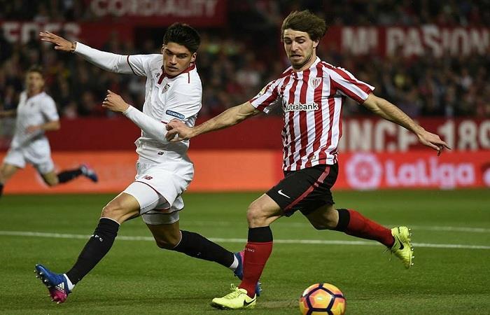 Joaquín Correa fue titular en el triunfo del Sevilla. Foto: Facebook