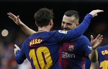 Barcelona con golazo de Lionel Messi venció 1-0 al Atletico Madrid por La Liga