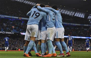 Manchester City con Sergio Agüero logró importante triunfo ante Chelsea