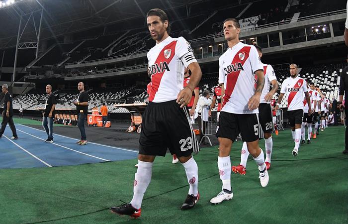 River Plate vs Chacarita. Foto: Twitter