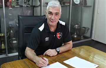 Newell's hizo oficial la llegada de Omar De Felippe