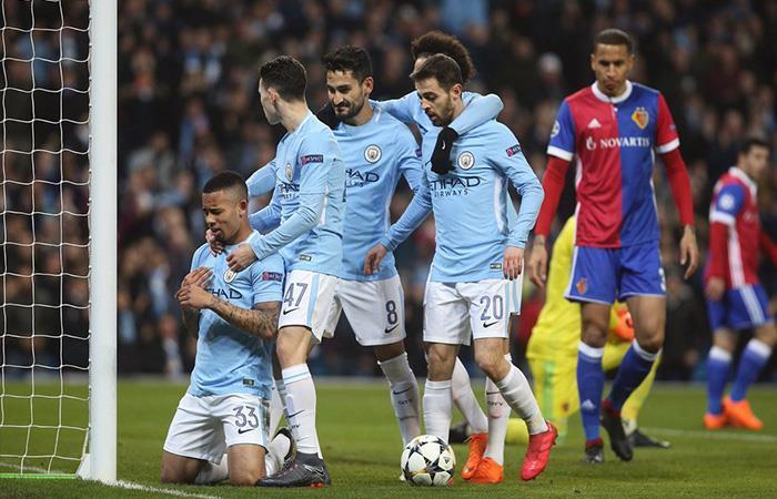 Manchester City a cuartos de final. Foto: Twitter