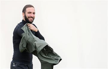Gonzalo Higuaín se recupera y vuelve a la convocatoria de la Juventus