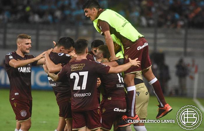 Lanús avanza a la siguiente fase de la Copa Sudamericana