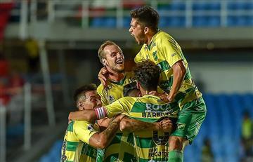 Defensa y Justicia goleó con categoría en una noche histórica al América de Calí