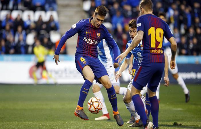 El Barcelona derrotó con suplentes al Espanyol en la Supercopa de Catalña. Foto: Twitter