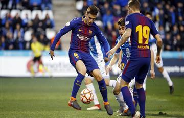 El Barcelona sin Lionel Messi le ganó la Supercopa de Cataluña al Espanyol