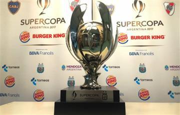 Supercopa Argentina: AFA designó horario del partido