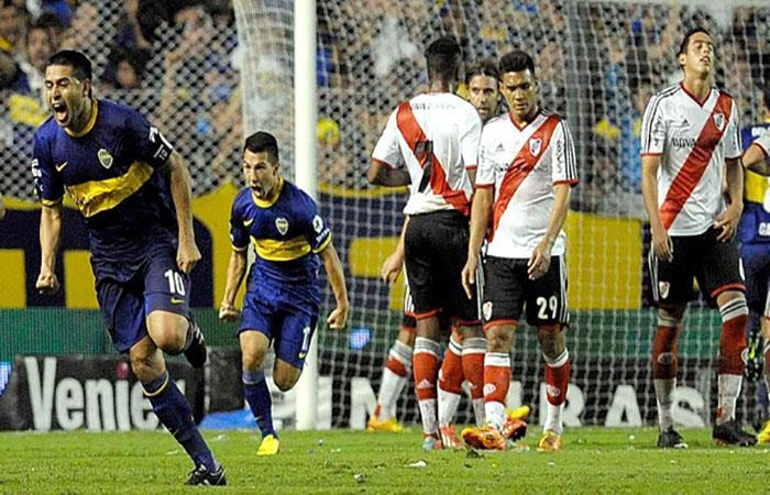 Juan Román Riquelme podría volver a jugar contra River Plate (AFP). Foto: AFP