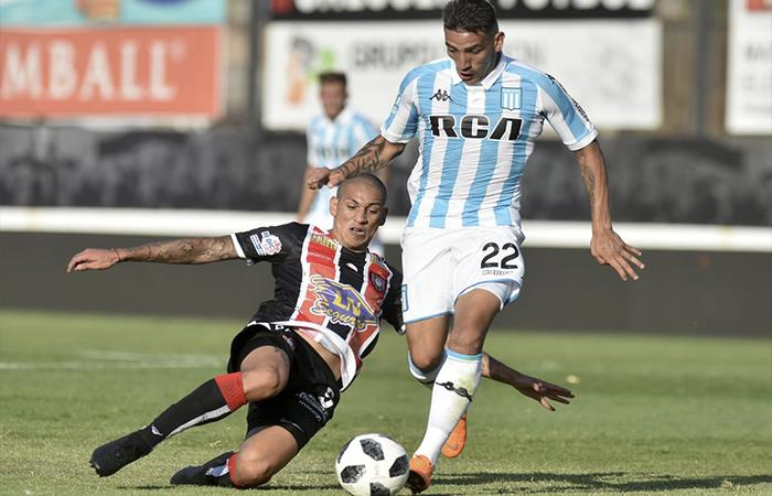 Chacarita y Racing igualaron 1-1 (Foto: Twitter)