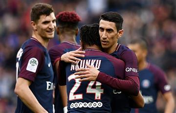 El PSG con Ángel Di María goleó 5-0 al Metz por la Ligue 1