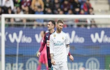 ¿Por qué Sergio Ramos abandonó el campo de juego por unos minutos?