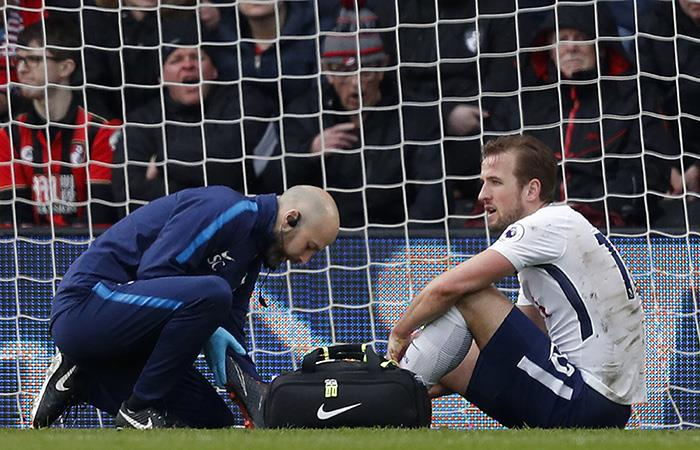 Harry Kane sufre lesión y es de pronóstico reservado. (AFP)