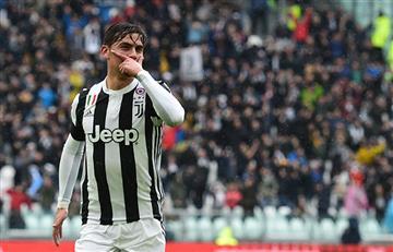 Juventus le ganó al Udinese con doblete de Paulo Dybala