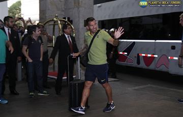 Boca Juniors: plantel tuvo demora en su vuelo a Mendoza